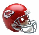 Kansas City Chiefs 1963-1973 Throwback Riddell NFL Full Size Deluxe Replica Football Helmet