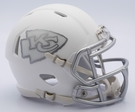Kansas City Chiefs - ICE alternate Speed Riddell Mini Football Helmet