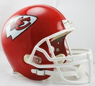 Kansas City Chiefs Riddell NFL Full Size Deluxe Replica Football Helmet