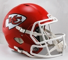 Kansas City Chiefs Riddell NFL Full Size Deluxe Replica Speed Football Helmet