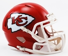 Kansas City Chiefs Speed Revolution Riddell Mini Football Helmet