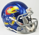 Kansas Jayhawks Speed Revolution Riddell Mini Football Helmet