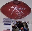Lawrence Taylor - Autographed Official Wilson Super Bowl 25 XXV NFL Football - PSA/DNA