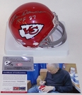 Len Dawson - Riddell - Autographed Mini Helmet - Kansas City Chiefs Throwback - PSA/DNA