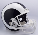 Los Angeles Rams Riddell NFL Full Size Deluxe Replica Football Helmet