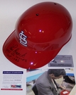 Lou Brock - Rawlings - Autographed Full Size Authentic Batting Helmet - St. Louis Cardinals - PSA/DNA