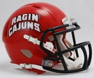 Louisiana Lafayette Ragin Cajuns Speed Revolution Riddell Mini Football Helmet