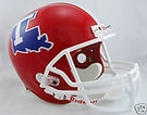 Louisiana Tech Riddell NCAA Full Size Deluxe Replica Football Helmet