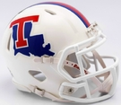 Louisiana Tech Speed Riddell Mini Football Helmet