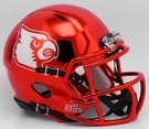 Louisville Cardinals - Chrome Alternate Speed Riddell Mini Football Helmet