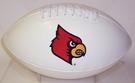 Louisville Cardinals Logo Full Size Signature Series Football