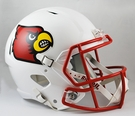 Louisville Cardinals Riddell NCAA Full Size Deluxe Replica Speed Football Helmet