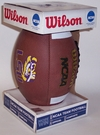 LSU Tigers Logo Full Size Football - Wilson F1738
