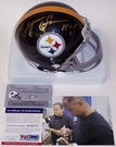 Lynn Swann - Riddell - Autographed Mini Helmet - Pittsburgh Steelers - PSA/DNA