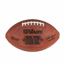 Marcus Allen - Autographed Official Wilson Super Bowl 18 XVIII NFL Leather Game Full Size Football