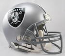 Marcus Allen - Autographed Raiders Riddell Full Size Authentic Proline Football Helmet