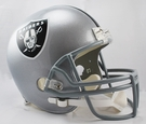 Marcus Allen - Autographed Raiders Riddell Full Size Deluxe Football Helmet