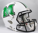 Marshall Riddell NCAA Full Size Deluxe Replica Speed Football Helmet