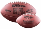 Mercury Morris - Autographed Official Wilson NFL Leather Game Full Size Football
