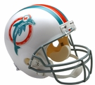 Miami Dolphins 1973-1979 Throwback Riddell NFL Full Size Deluxe Replica Football Helmet