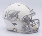 Miami Dolphins - ICE alternate Speed Riddell Mini Football Helmet