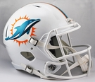Miami Dolphins Riddell NFL Full Size Deluxe Replica Speed Football Helmet