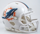 Miami Dolphins Speed Revolution Riddell Mini Football Helmet