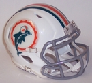 Miami Dolphins Speed Riddell Mini Football Helmet