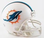 Miami Dolphins VSR4 Riddell Mini Football Helmet