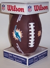 Miami Dolphins - Wilson F1748 Composite Leather Full Size Football