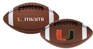 "Miami Hurricanes Logo Junior Size 10"" Signature Series Football"