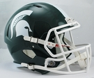 Michigan State Spartans Riddell NCAA Full Size Deluxe Replica Speed Football Helmet