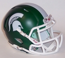 Michigan State Spartans Speed Revolution Riddell Mini Football Helmet