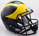 Michigan Wolverines Riddell NCAA Full Size Deluxe Replica Speed Football Helmet