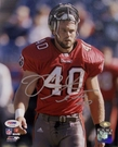 Mike Alstott - Autographed 8x10 photo Tampa Bay Bucs