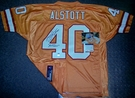 Mike Alstott - Autographed Tampa Bay Bucs Throwback - Orange Reebok Official Jersey - PSA/DNA