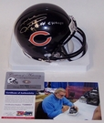 Mike Ditka - Riddell - Autographed Mini Helmet - Chicago Bears - PSA/DNA
