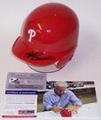 Mike Schmidt - Autographed Batting Mini Helmet - Philadelphia Phillies - PSA/DNA