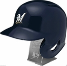 Milwaukee Brewers - Rawlings Full Size MLB Batting Helmet - Model Number: MLBRL-MIL