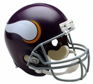 Minnesota Vikings 1961-1979 Throwback Riddell NFL Full Size Deluxe Replica Football Helmet