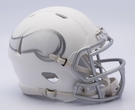 Minnesota Vikings - ICE alternate Speed Riddell Mini Football Helmet