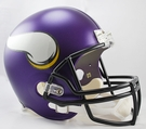 Minnesota Vikings Riddell NFL Full Size Deluxe Replica Football Helmet