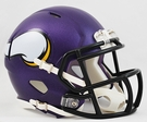 Minnesota Vikings Speed Revolution Riddell Mini Football Helmet