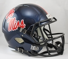 Mississippi Ole Miss Rebels Riddell NCAA Full Size Deluxe Replica Speed Football Helmet