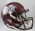Mississippi State Bulldogs Riddell NCAA Full Size Deluxe Replica Speed Football Helmet