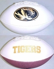 Missouri Tigers Logo Full Size Signature Series Football