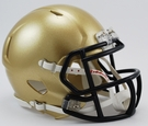Navy Midshipmen Speed Riddell Mini Football Helmet