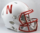 Nebraska Cornhuskers Riddell NCAA Full Size Deluxe Replica Speed Football Helmet