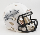 Nevada Wolfpack Speed Riddell Mini Football Helmet