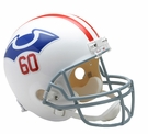 New England Patriots 1960 Throwback Riddell NFL Full Size Deluxe Replica Football Helmet